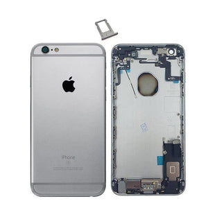 New iPhone 6S Plus Back Housing Mid Frame Assembly with Cables Parts tools - Gray - Housing Assembly