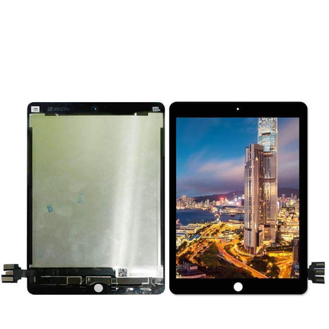 Image of Lcd Display Touch Screen Digitizer Glass Assembly for iPad Pro 9.7 A1673 A1674 A1675 - Black / White - Black - Parts