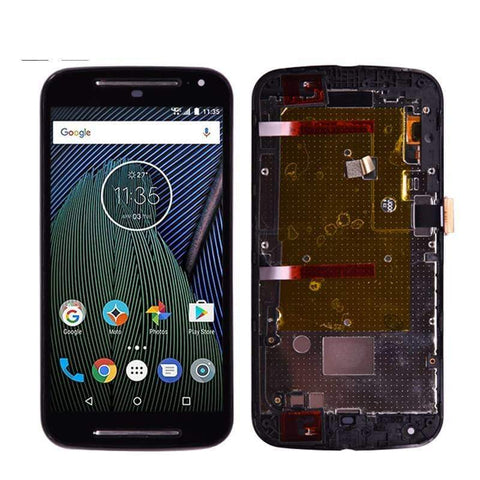 Image of LCD Touch Screen Digitizer Display Assembly for Motorola Moto G2 XT1063 XT1068 - Black - LCDs & Digitizers