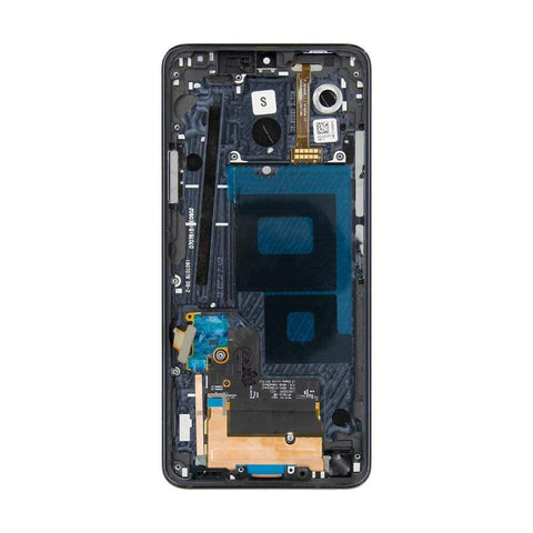 Image of LCD Touch Screen Digitizer Display for LG G7 ThinQ G710 G710EM G710PM G710VMP - Black With Frame - LCDs & Digitizers