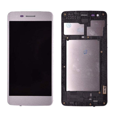 Image of LCD Touch Screen Digitizer Display for LG K8 2017 M200 M210 US215 MS210 - White | With Frame - LCDs & Digitizers