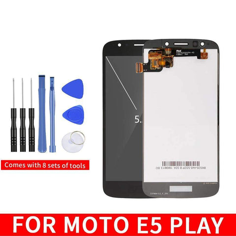 LCD Touch Screen Digitizer Display for Motorola Moto E5 Play XT1921 - Black | No Frame - LCD's & Digitizers