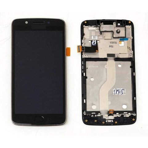 Image of LCD Touch Screen Digitizer Display for Motorola Moto G5 XT1672 XT1676 - Black LCD With Frame - LCDs & Digitizers