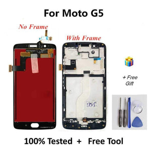LCD Touch Screen Digitizer Display for Motorola Moto G5 XT1672 XT1676 - LCDs & Digitizers