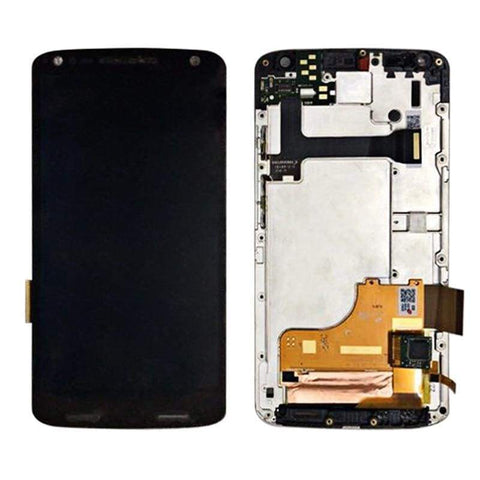 Image of LCD Touch Screen Digitizer Display for Motorola Moto X Force XT1580 XT1585 - Black | With Frame - LCD's & Digitizers