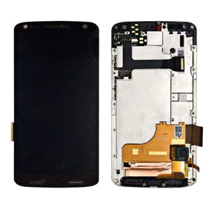 LCD Touch Screen Digitizer Display for Motorola Moto X Force XT1580 XT1585 - Black | With Frame - LCD's & Digitizers