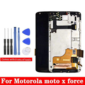 LCD Touch Screen Digitizer Display for Motorola Moto X Force XT1580 XT1585 - LCD's & Digitizers