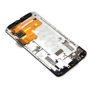 LCD Touch Screen Digitizer Display for Motorola Moto X Force XT1580 XT1585 - White | With Frame - LCD's & Digitizers