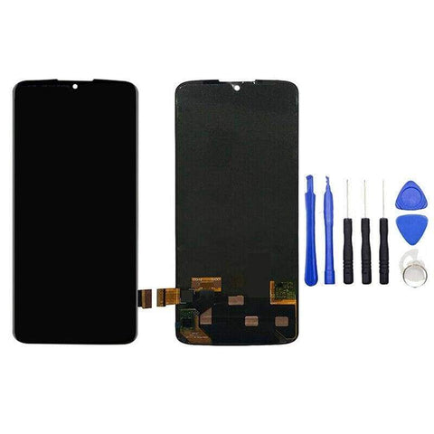 Image of LCD Touch Screen Digitizer Display for Motorola Moto Z4 XT1980-3 XT1980-4 - Black - LCD's & Digitizers