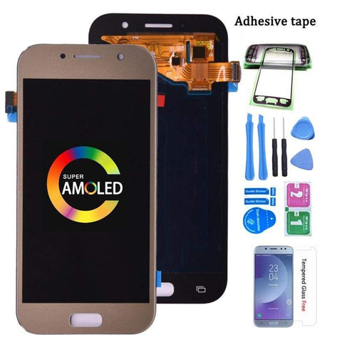 Image of LCD Touch Screen Digitizer Display for SAMSUNG Galaxy A5 2017 A520 A520W A520F - Black - LCDs & Digitizers