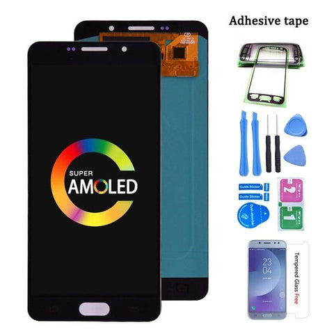 LCD Touch Screen Digitizer Display for SAMSUNG Galaxy A7 2016 A710 A710F - Black - LCDs & Digitizers