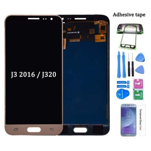 LCD Touch Screen Digitizer Display for Samsung Galaxy J3 2016 J320 J320A J320W - White - LCDs & Digitizers