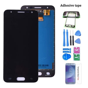 LCD Touch Screen Digitizer Display for Samsung Galaxy J5 Prime SM-J570 SM-J570F - Single Hole Black - LCDs & Digitizers