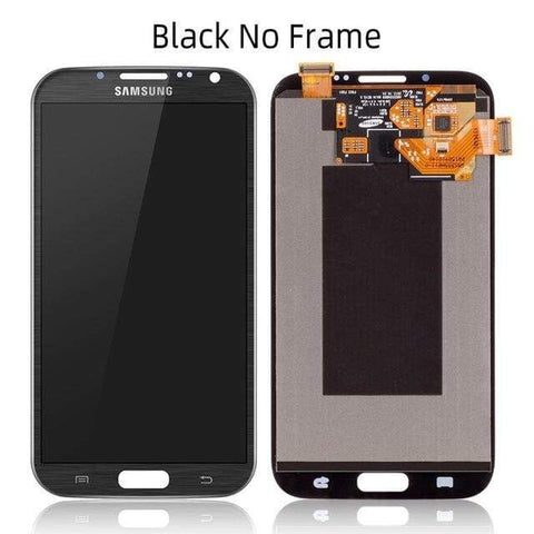 LCD Touch Screen Digitizer Display for Samsung Galaxy Note 2 N7100 N7105 I317 - Black No Frame - LCDs & Digitizers