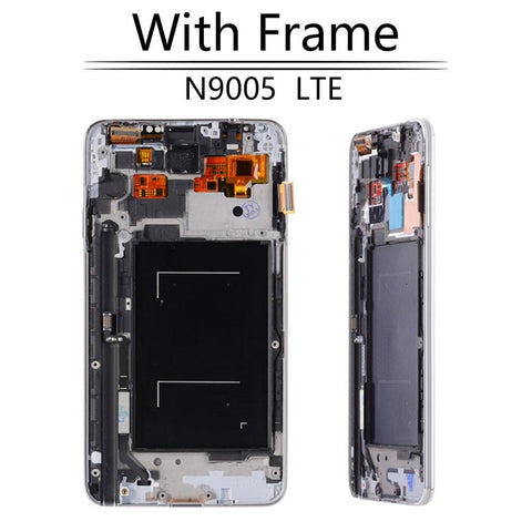 Image of LCD Touch Screen Digitizer Display for Samsung Galaxy Note 3 SM-N900W8 SM-N900F - N9005 Black with FRam - LCD's & Digitizers