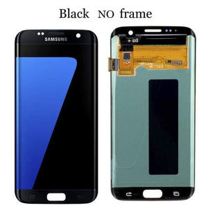 LCD Touch Screen Digitizer Display for Samsung Galaxy S7 Edge G935W8 G935A G935F - Black No Frame - LCDs & Digitizers