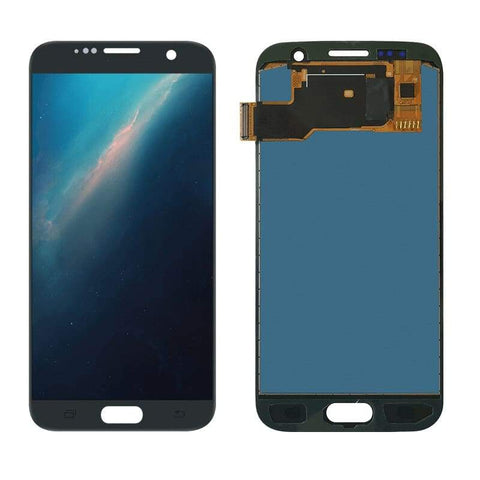 LCD Touch Screen Digitizer Display for Samsung Galaxy S7 SM-G930W8 G930A G930F - Black - Parts