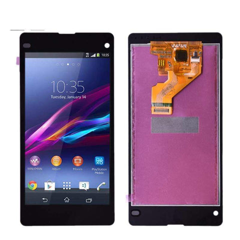 Image of LCD Touch Screen Digitizer Display for Sony Xperia Z1 Compact Mini M51W D5503 - Black no frame - LCDs & Digitizers