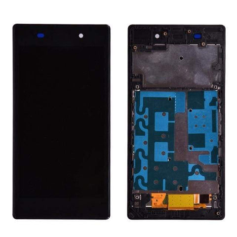 Image of LCD Touch Screen Digitizer Display for Sony Xperia Z1 L39H C6902 C6903 - lcd with frame Black - LCDs & Digitizers