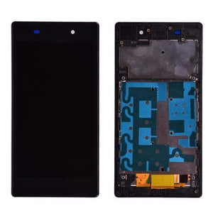 LCD Touch Screen Digitizer Display for Sony Xperia Z1 L39H C6902 C6903 - lcd with frame Black - LCDs & Digitizers
