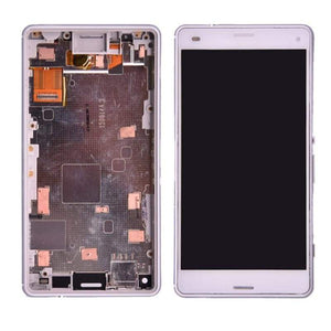 LCD Touch Screen Digitizer Display for Sony Xperia Z3 Compact Mini D5803 D5833 - without frame White - LCDs & Digitizers