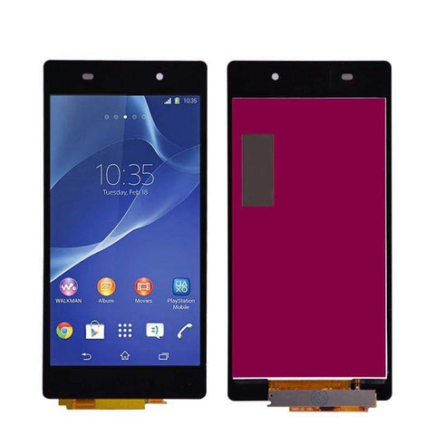 LCD Touch Screen Digitizer Display + Frame for Sony Xperia Z2 L50W D6502 D6503 - Black Without Frame - LCDs & Digitizers