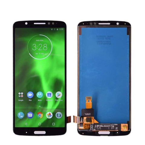 Image of LCD Touch Screen Digitizer Display Replacement for Motorola Moto G6 Plus XT1926 - Black | With Frame - LCDs & Digitizers