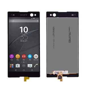 LCD Touch Screen Digitizer Display Replacement for Sony Xperia C3 D2502 D2533 - Black - LCDs & Digitizers