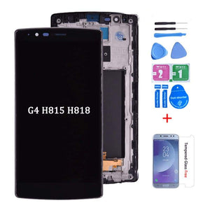 LCD Touch Screen Digitizer Display with Frame for LG G4 H810 H811 H812 H815 H818 - H818 Dual Sim With Frame - LCDs & Digitizers