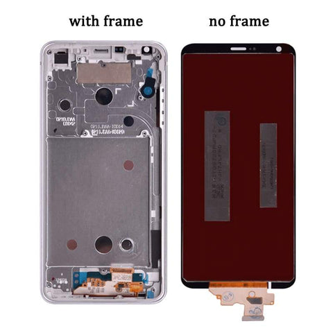 LCD Touch Screen Digitizer Display with Frame for LG G6 H870 H872 H873 LS993 - Black no frame - LCDs & Digitizers