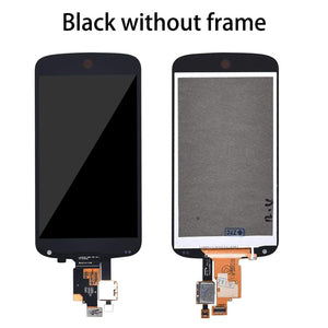 LCD Touch Screen Digitizer Display with frame for LG Google Nexus 4 E960 - Black without Frame - LCDs & Digitizers