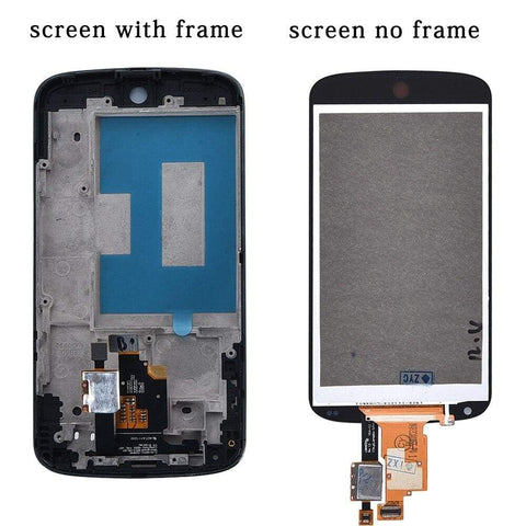 Image of LCD Touch Screen Digitizer Display with frame for LG Google Nexus 4 E960 - LCDs & Digitizers