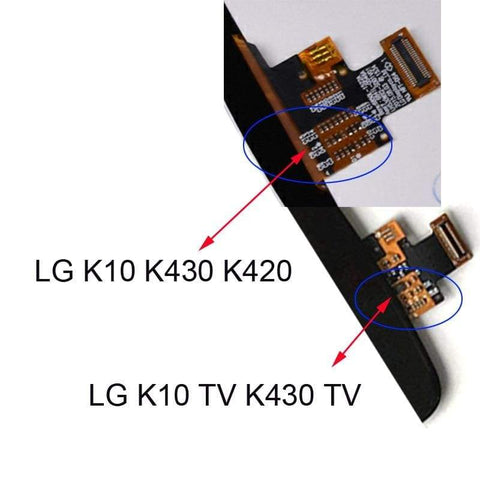 Image of LCD Touch Screen Digitizer for LG K10 K420N K430 K420 K430DS K10TV K420TV K430TV - LCDs & Digitizers