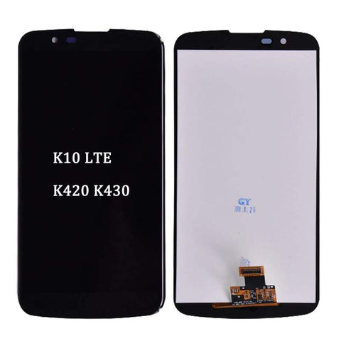 Image of LCD Touch Screen Digitizer for LG K10 K420N K430 K420 K430DS K10TV K420TV K430TV - K10 No frame Black - LCDs & Digitizers