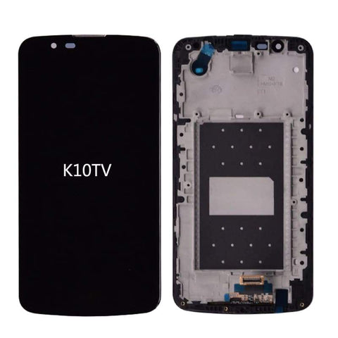 Image of LCD Touch Screen Digitizer for LG K10 K420N K430 K420 K430DS K10TV K420TV K430TV - K10TV with frame Black - LCDs & Digitizers