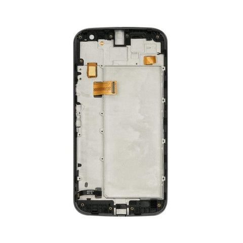 Image of LCD Touch Screen Digitizer for Motorola Moto G4 Plus XT1644 XT1640 XT1641 - White LCD | With Frame - LCDs & Digitizers