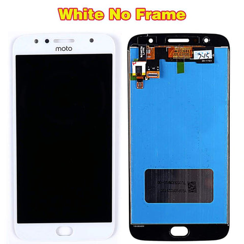 Image of LCD Touch Screen Digitizer for Motorola Moto G5S Plus XT1803 XT1805 XT1806 - White LCD - LCDs & Digitizers