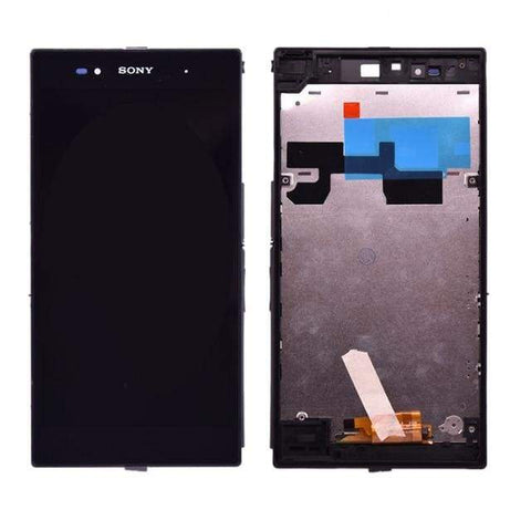 LCD Touch Screen Digitizer for Sony Xperia Z Ultra XL39h XL39 C6802 C6806 - with frame - LCDs & Digitizers