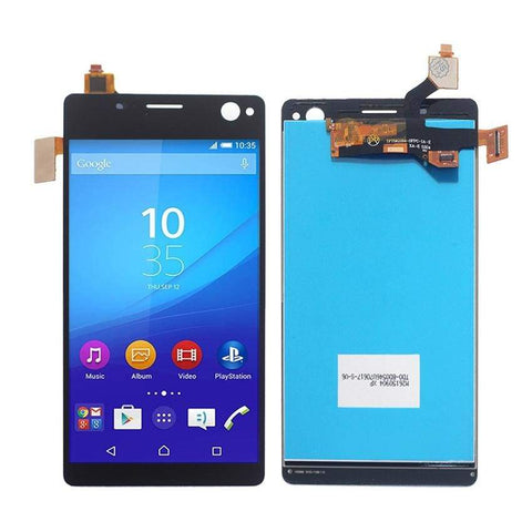 Image of LCD Touch Screen Digitizer Sony Xperia C4 E5303 E5306 E5333 E5343 E5353 E5363 - Black l No Frame - LCDs & Digitizers