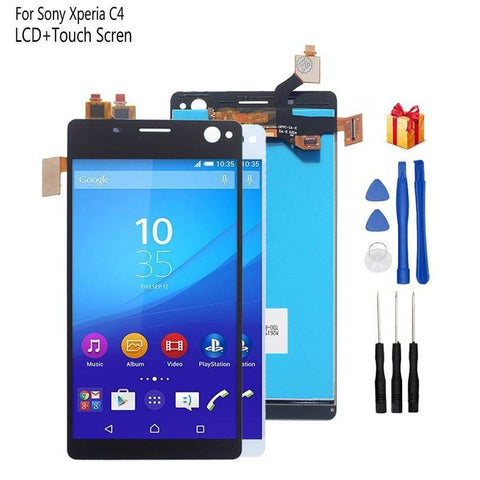 LCD Touch Screen Digitizer Sony Xperia C4 E5303 E5306 E5333 E5343 E5353 E5363 - LCDs & Digitizers