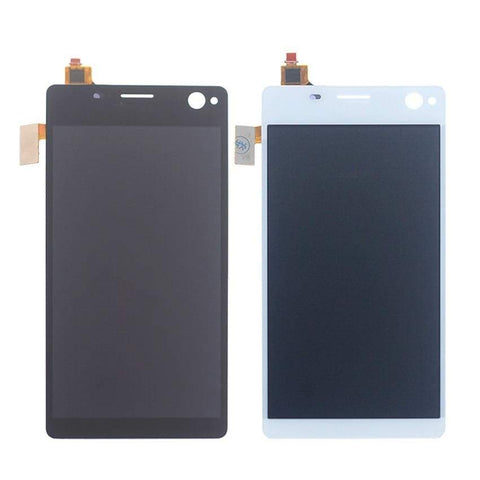 Image of LCD Touch Screen Digitizer Sony Xperia C4 E5303 E5306 E5333 E5343 E5353 E5363 - White l No Frame - LCDs & Digitizers