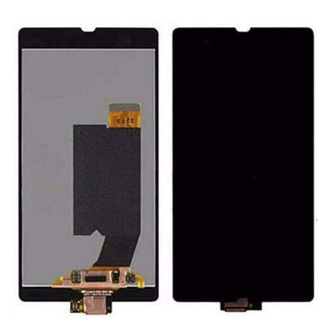 LCD Touch Screen Digitizer Sony Xperia Z L36h L36i C6606 C6603 C6602 C660x C6601 - Black no frame - LCDs & Digitizers
