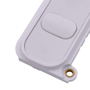 LG G4 Rear Camera Lens Glass Cover and Frame Holder - White - Camera Lens Cover