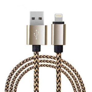Lightning USB Cable Data Charging 1M 2M Apple iPhone X 8 7 Plus 6 iPad Braided - Accessories