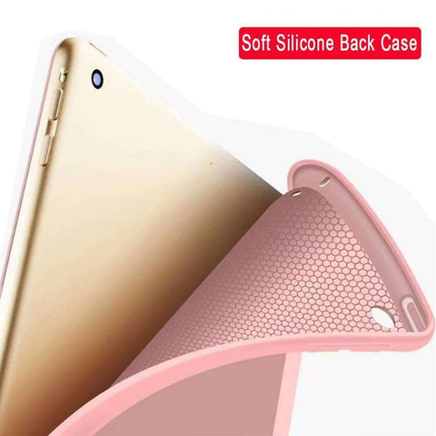 Image of Magnet Smart Sleep Awake Foldable Leather Cover for Apple iPad mini 1 2 3 - Accessories