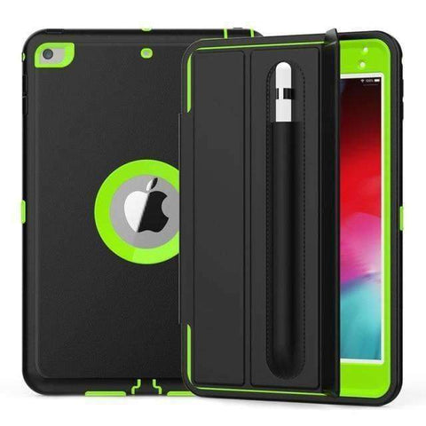 Magnetic Smart Sleep Awake Trifold Case Cover for iPad Mini 4 Mini 5 A1538 A2133 - Green - Accessories