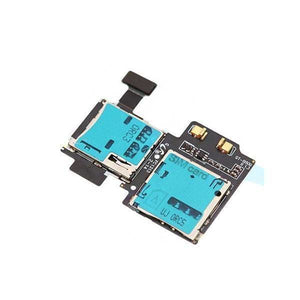 Micro SD Sim Card Reader Flex Cable for Samsung Galaxy S4 - Micro SD & Sim Card Reader