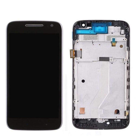 Image of Motorola Moto G4 Play LCD Digitizer With Frame For XT1601 XT1602 XT1603 XT1604 - Black LCD With Frame - Parts