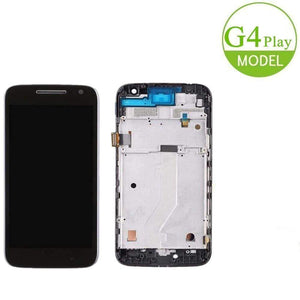 Motorola Moto G4 Play LCD Digitizer With Frame For XT1601 XT1602 XT1603 XT1604 - Parts