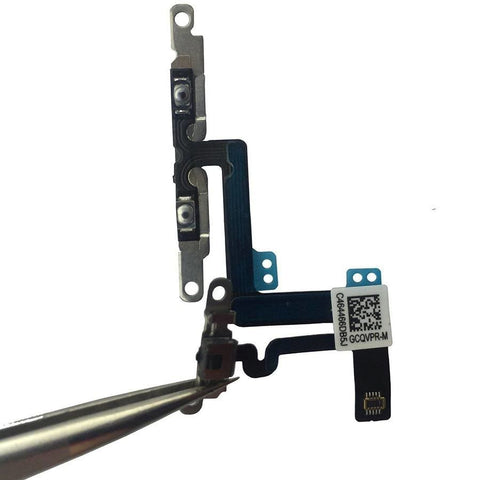 Image of Mute Volume Control Button Switch Flex Cable for iPhone 6 Plus A1522 A1524 A1593 - Volume and Mute Button